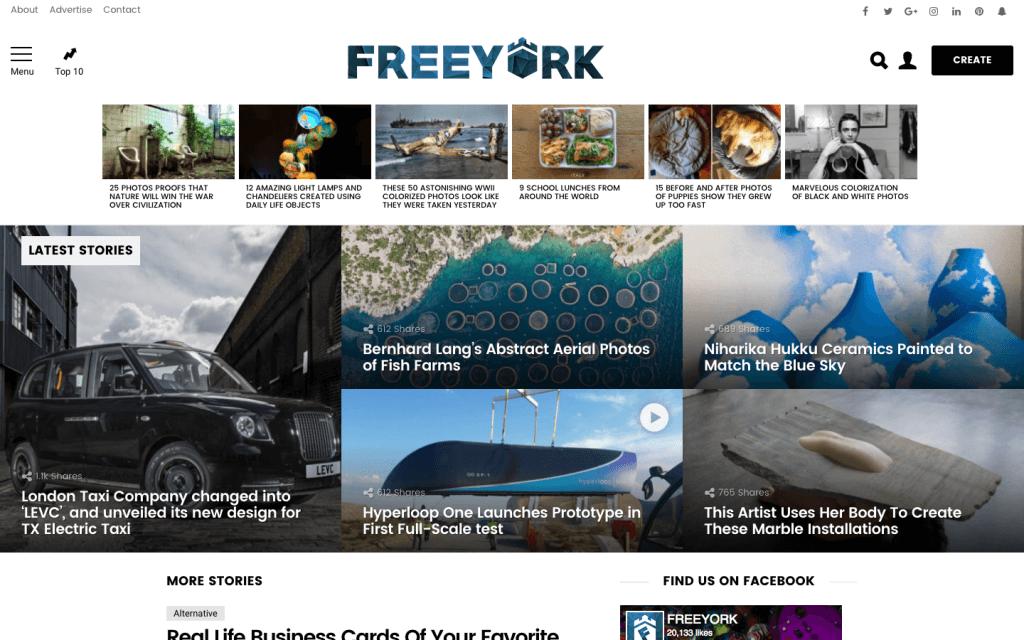 FREEYORK's Homepage