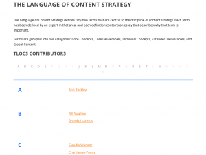 The Language of Content Strategy - The-Content-Wrangler