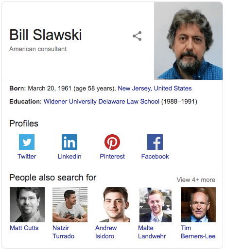 Implementing Structured Data for SEO with Bill Slawski