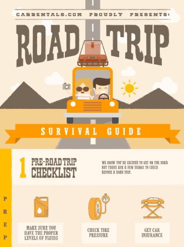 car rentals infographic