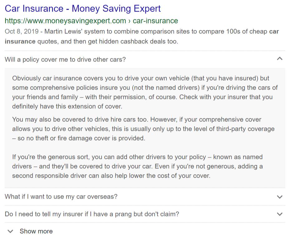 FAQ retail business