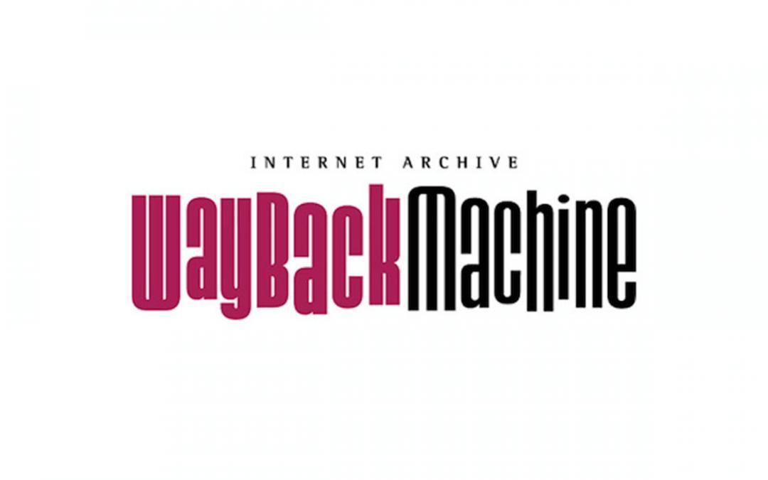 Wayback Machine for SEO