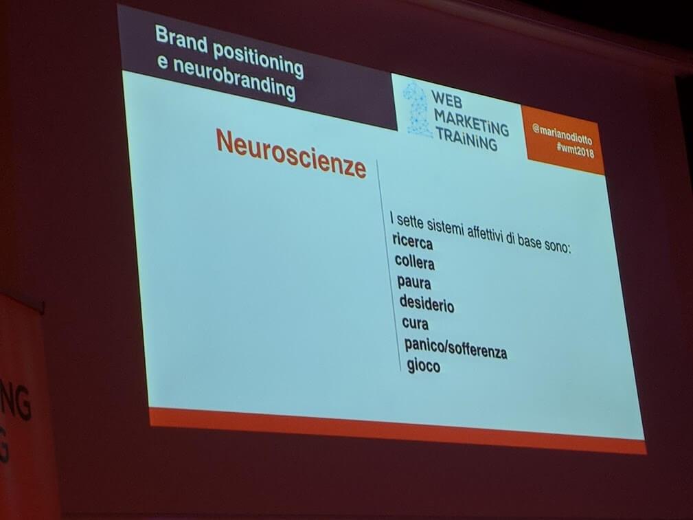 Neuroscienze e brand positioning