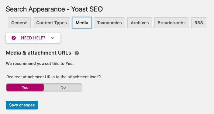 screenshot Yoast