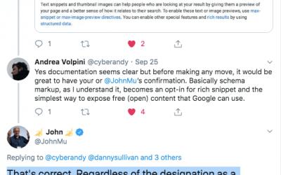 SEO e Link Tax: per Google i dati strutturati sono un'autorizzazione implicita per usare i contenuti nei rich snippet