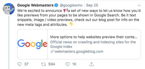 aggiornamento Google dati strutturati rich snippet