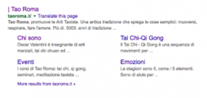 Rich Snippets | Tao Roma