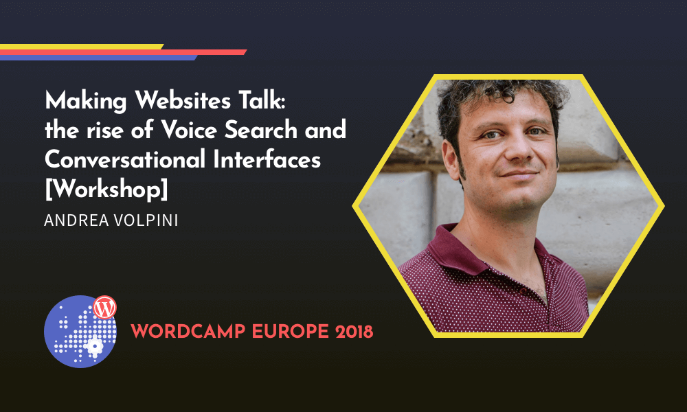 Making Websites Talk | Workshop with Andrea Volpini