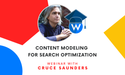 Content Modeling for Serach Optimization - Cruce Saunders