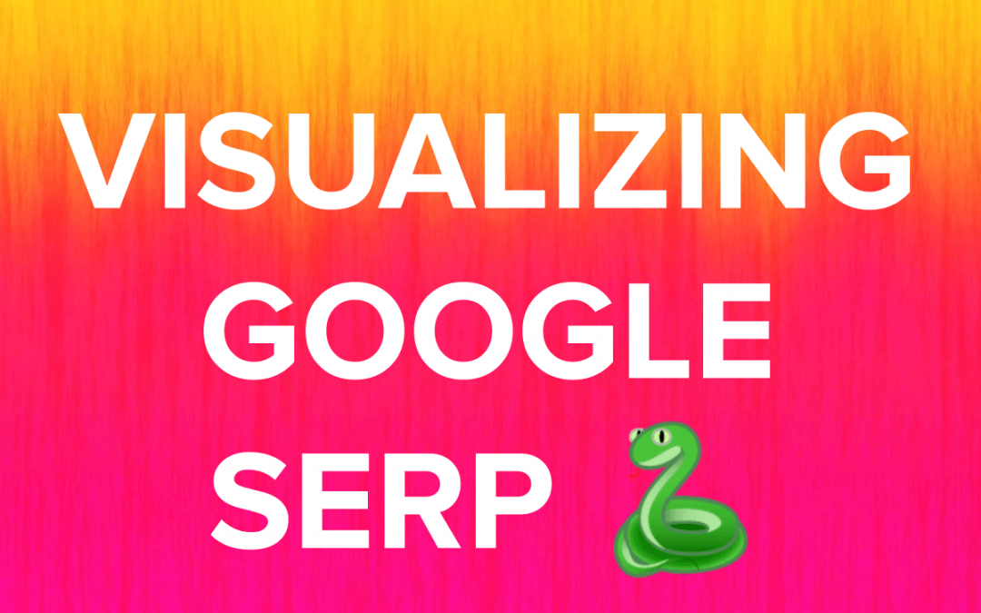 SERP Analysis with the help of AI